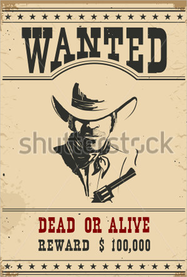 Wanted Poster Design
