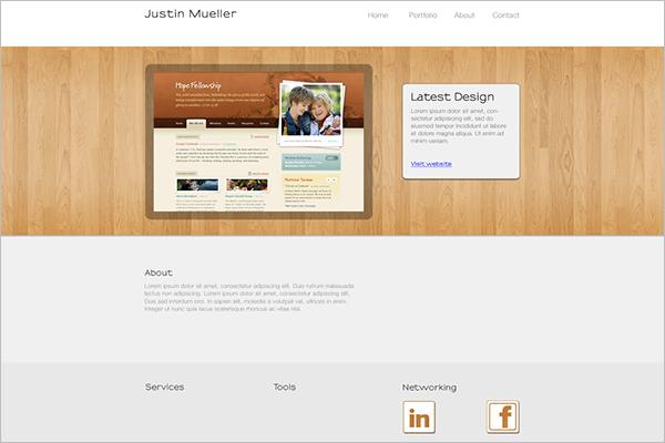 Web DesignPortfolio Mockup