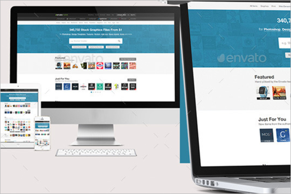 WebsitePortfolio Mockup Design