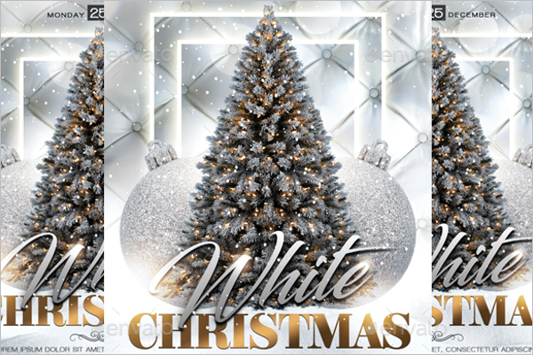 White Christmas Eve Party