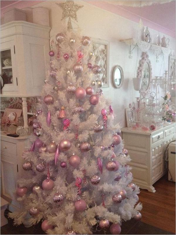 White Christmas Tree Design Ideas