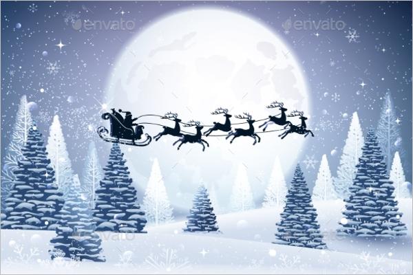 White Christmas Tree Design