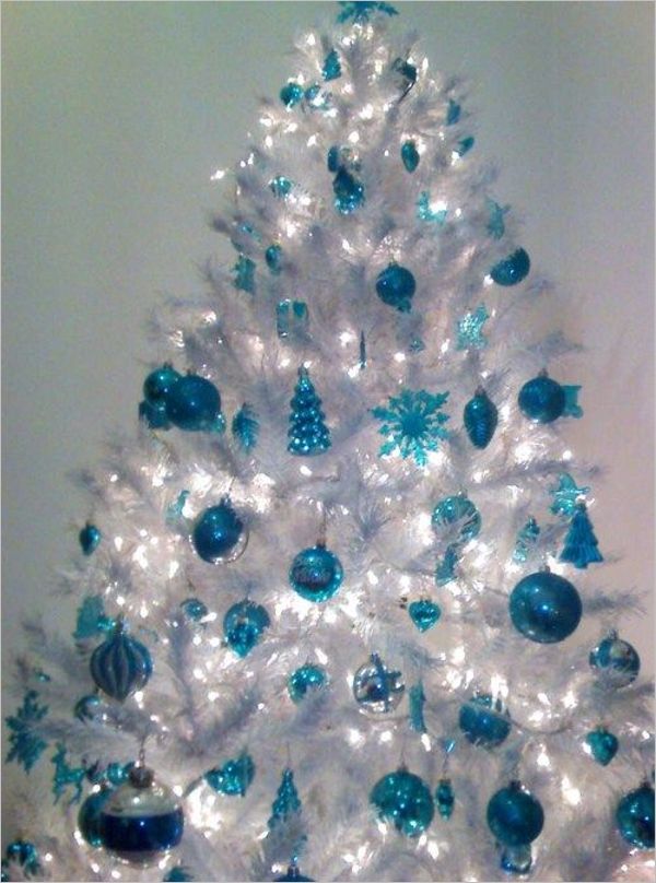 34 White Christmas Tree Ideas Free Diy Decoration Templates