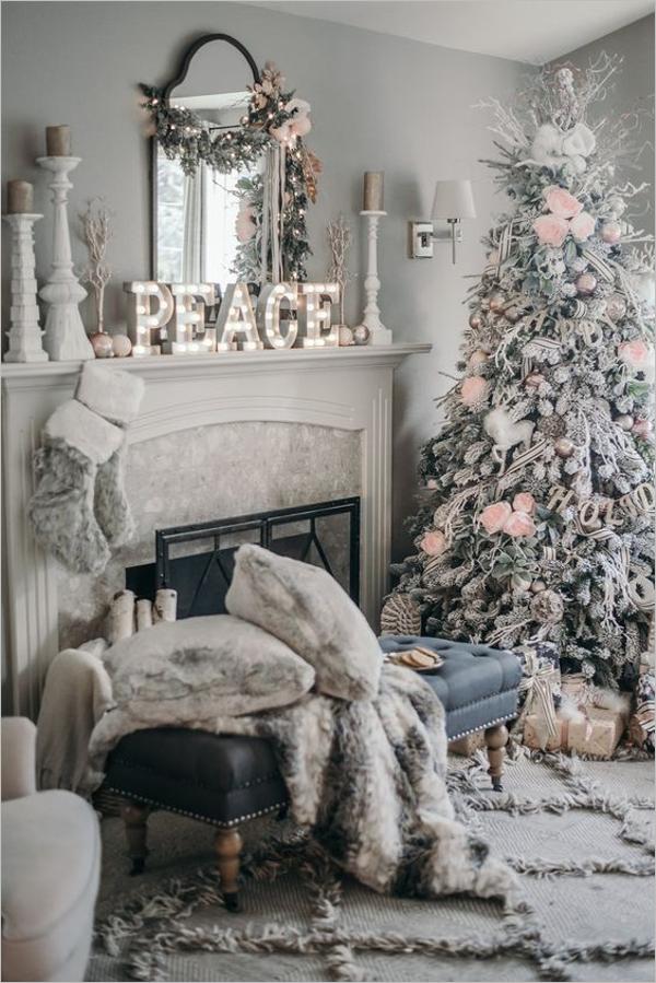 White Christmas Tree Images