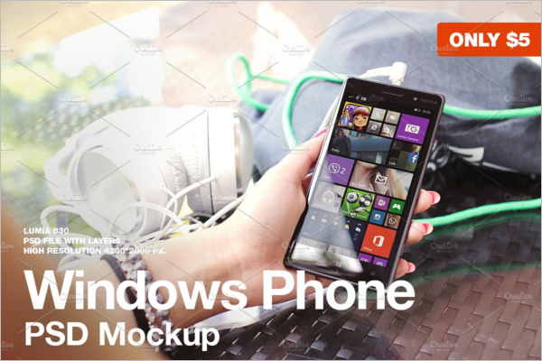 Windows Phone Mockup