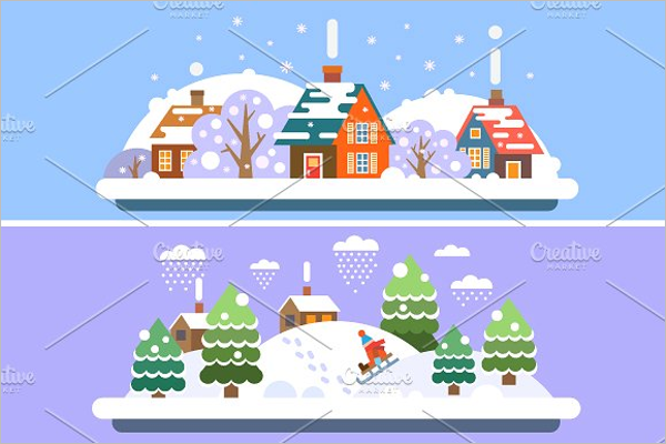 Winter Village Landscape Design