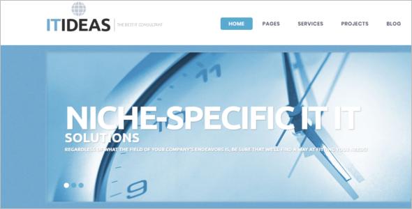 WordPress Information Technology Theme