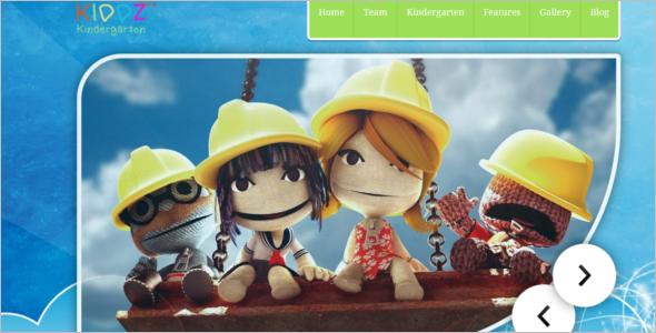 WordPress Kindergarten Theme