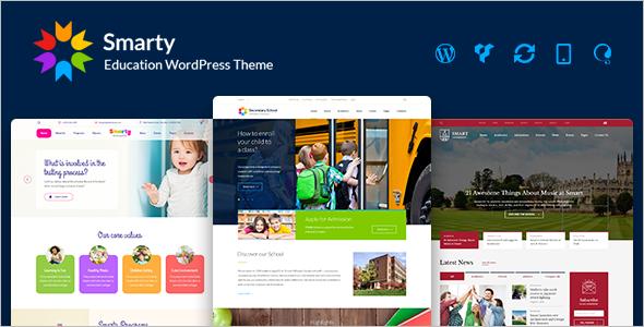 WordPress Theme for Child Daycare