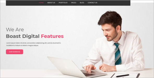 WordPress Theme for IT Company