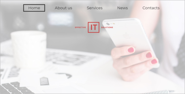 WordPress Theme for IT Solutions
