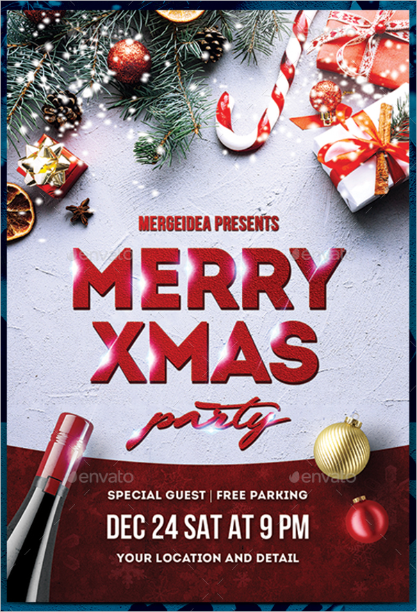 Xmas Party Template