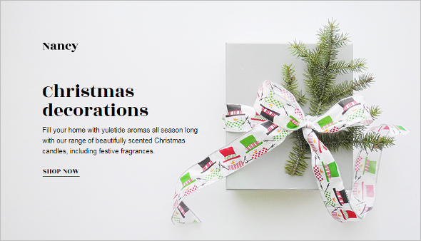 Xmas Tree Website Template