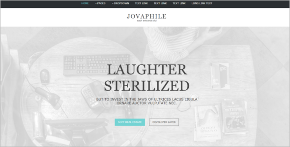 eCommerce Free Website Template