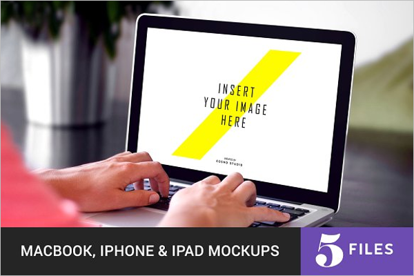 iPad Mockup Template