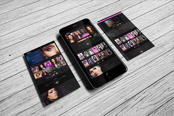 mobile Screen Mockup