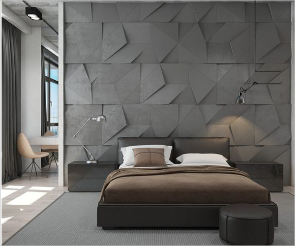 3D Bedroom Texture Design
