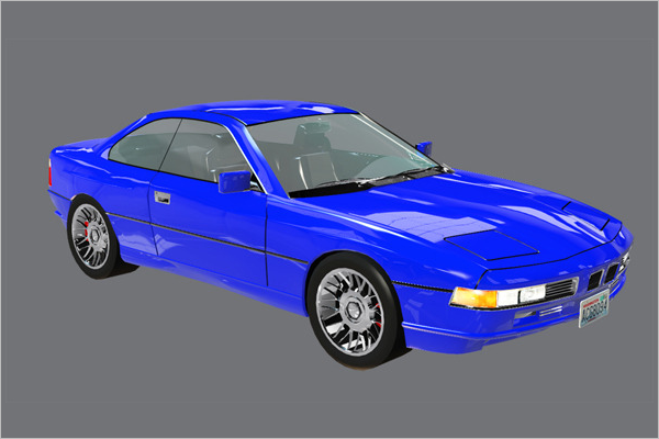 3D Car Model Viewer