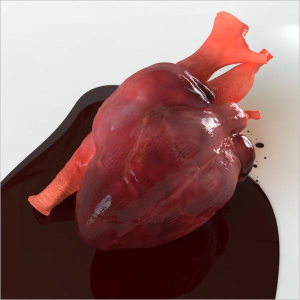 3D Heart Design