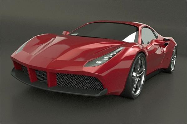 3D Max Car Model