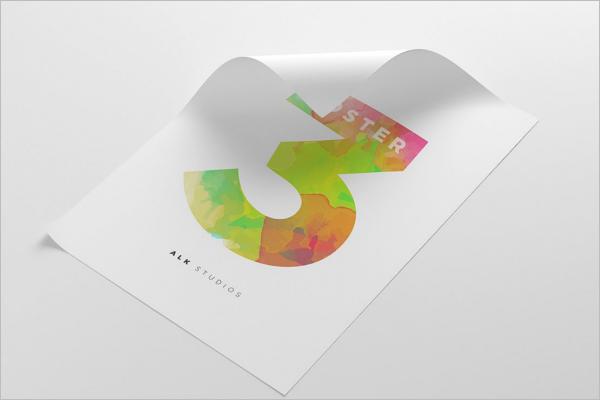 A3 Poster Mockup Design