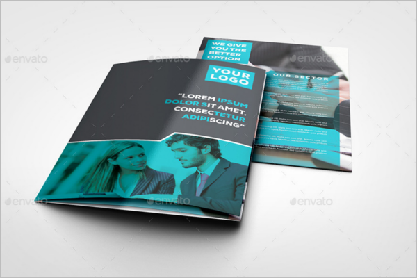 A4 Brochure Design Template