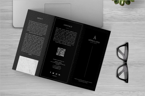 A4 Brochure Template Free Download