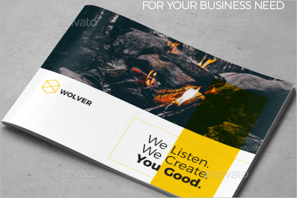 A4 Brochure Template InDesign