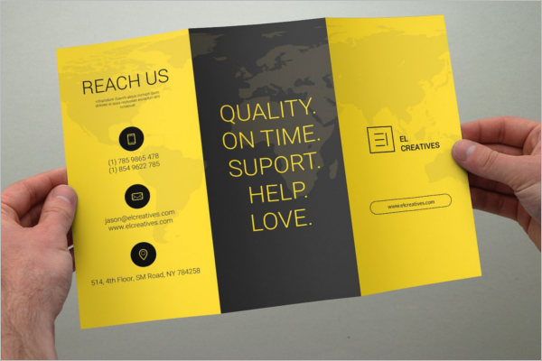 A4 Brochure Template Photoshop