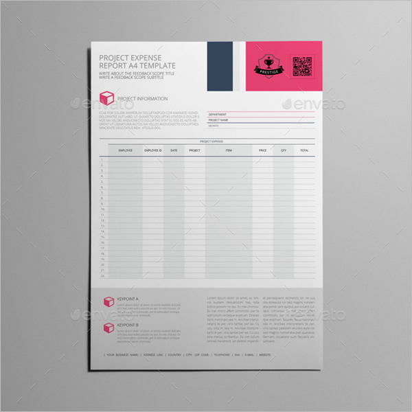A4 Project Report Template