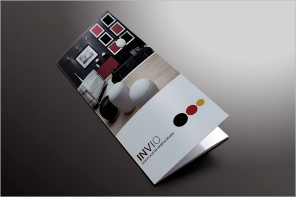 A4 Size Brochure Design Template