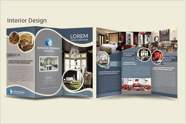 A4 Size Tri Fold Brochure InDesign