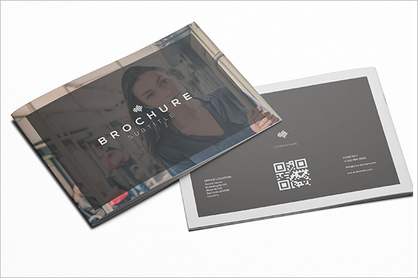 A4 Trifold Brochure Free PSD
