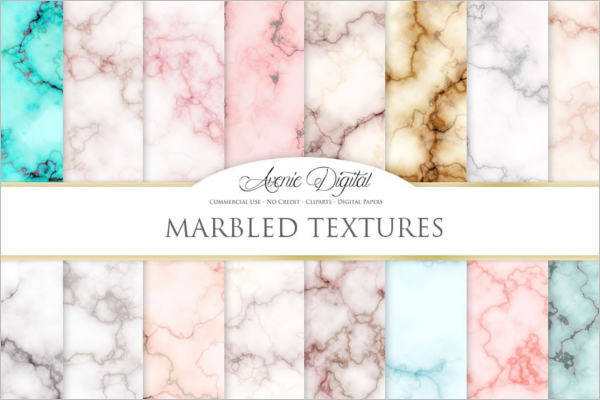 Abstract Marble Texture Design