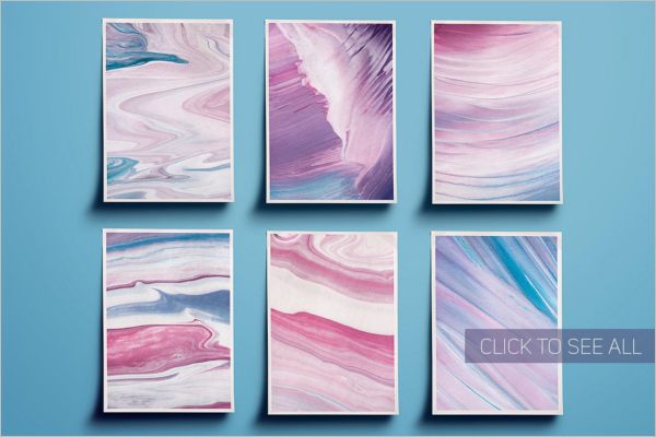 Abstract Painting Texture Design