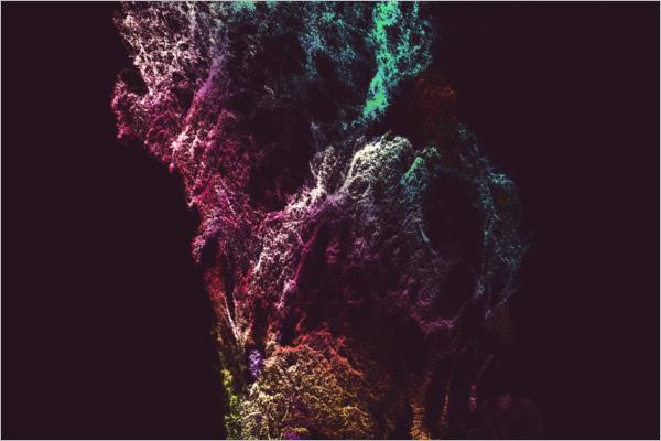 Abstruct Light Texture Background
