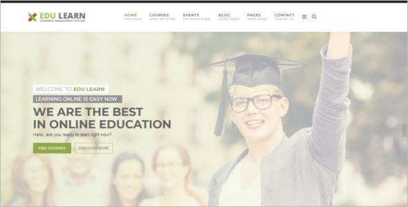 AcademyJoomla Website Template
