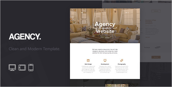 Agency Corporate HTML5 Template