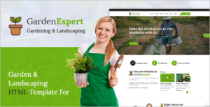 Agriculture Company HTML Template
