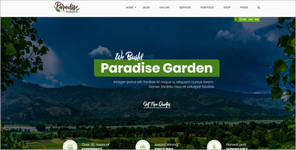 Agriculture HTML5 Template Bootstrap