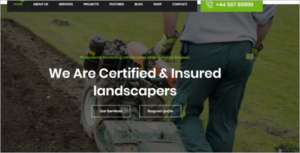 Agriculture HTML5 Template PSD
