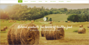 Agriculture Web HTML5 Template