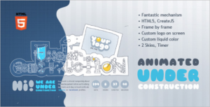 Animated HTML5 Template