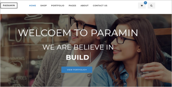 Animated Parallax HTML5 Template