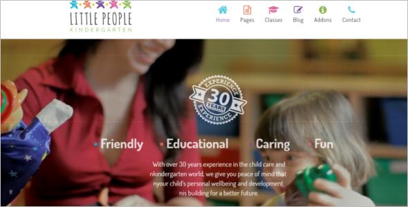 Animated Website Joomla Template