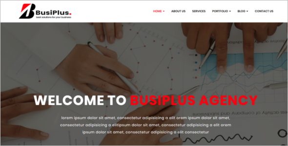 Animation Corporate HTML5 Template