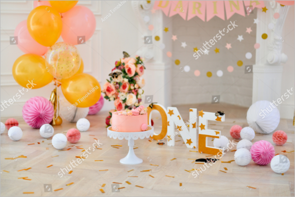 Anniversary Party Decoration Design