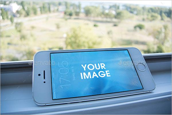 Apple Mobile Mockup Design