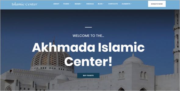 Arabic Style WordPress Theme