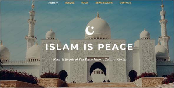Arabic Website WordPress Theme